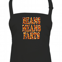 BEANS MEANS FARTS- Funny food Adult Unisex Kitchen Apron  - AA1545