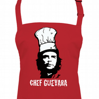 CHEF GUEVARA - iconic marxist chef of the people unisex apron  - AA1275