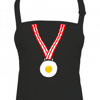 EGG & BACON MEDAL - fry up breakfast Unisex Kitchen Chefs apron - AA1320
