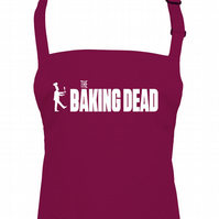 BAKING DEAD- Zombie Series inspired funny unisex chef's apron - AA1271