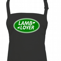 LAMB LOVER- spoof parody Funny unisex apron  - AA1291