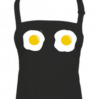 FRIED EGG BREASTS - funny yolk Unisex Kitchen Chef apron  - AA1321