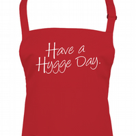 Have A Hygge Day- Bring A Little Danish Coziness into Your Life- Apron AA1694