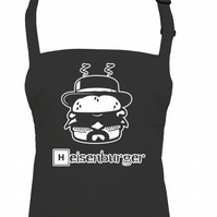 HEISENBURGER - funny unisex kitchen Bad chef's apron  - AA1287