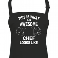 This Is What An awesome Chef Look Like - Funny apron -AA1308
