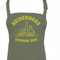 Superior High - Heisenberg chemistry school - Cult TV inspired apron - AA1302
