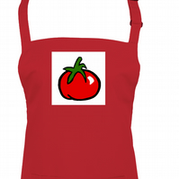 Ready Steady Red Tomato Cook - unisex apron  - AA1400