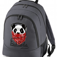 BAD PANDA- Urban Bear backpack rucksack bag BPK1515