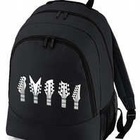GUITAR HEADS- Musical instrument Graphic Backpack  - BPK1354