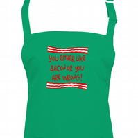 You Either Like Bacon or You're Wrong- Funny Unisex apron  - AA1059