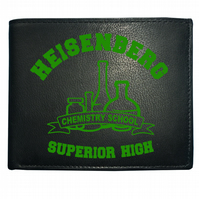 SUPERIOR HIGH- Heisenberg Chemistry School- Cult Men's  Leather Wallet- WBF1302