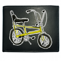 CHOPPER BIKE- Cool, iconic, graphic stylish Men's  Leather Wallet- WBF1198