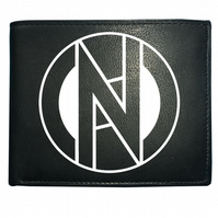 Conflict punk rock retro iconic logo- Men's  Leather Wallet - WBF1088