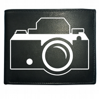 CAMERA- Stylish Graphic Male Men's  Leather Wallet- WBF1669