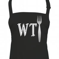 WHAT THE FORK? -Funny Unisex kitchen Apron  - AA1448