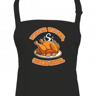 Winner, Winner, Chicken Dinner- Funny Phrase Unisex Chef Apron  -AA1887