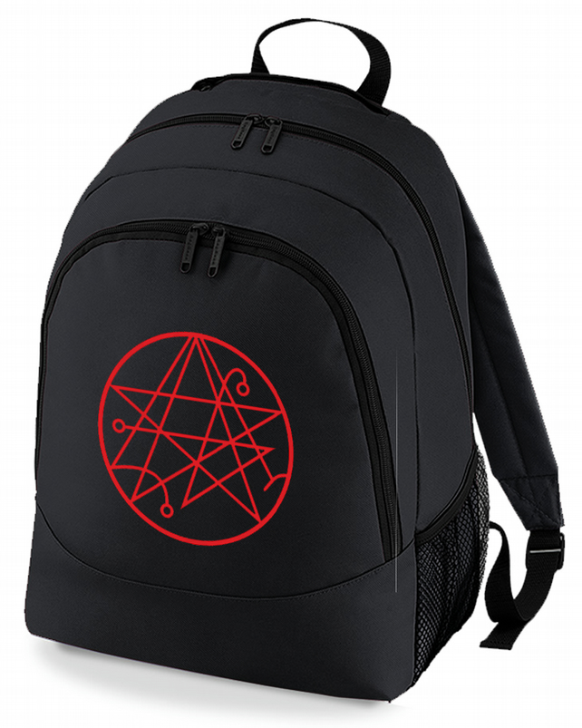 Sigil of the Gateway Cthulhu symbol - H P Lovecraft mythos Backpack  - BPK1226
