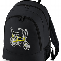 CHOPPER BIKE- Cool, iconic, graphic stylish backpack bag  - BPK1198