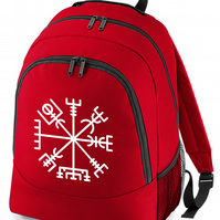 Vegvisir - Icelandic Norse magical 'Signpost' Symbol- backpack bag  -BPK1139