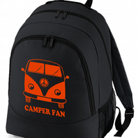 CAMPERFAN- Cool iconic Classic Camper Backpack  - BPK1195