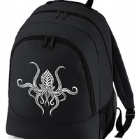 CTHULHU SQUID - spiritual symbol backpack bag  -BPK1149