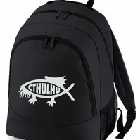 CTHULHU FISH - spiritual symbol backpack bag  BPK1150