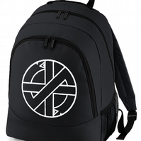 Crass Punk Rock Retro Iconic Logo - Men's Backpack  -BPK1089