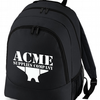 ACME ANVIL- Looney animated cartoon inspired Backpack  -BPK1020