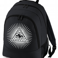 Eye Of Providence - The All Seeing Eye - backpack bag   - BPK1124