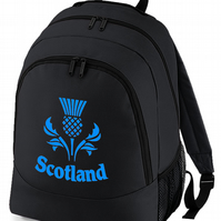 SCOTTISH THISTLE - emble of the scottish nation - Graphic backpack bag  BPK1431