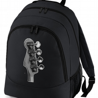 ANARCHY SYMBOL- Punk logo Men's Varsity backpack bag  -BPK1564