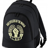 Bad Spellers Of The World Untie - Dictionary Shy, backpack bag  -BPK1023