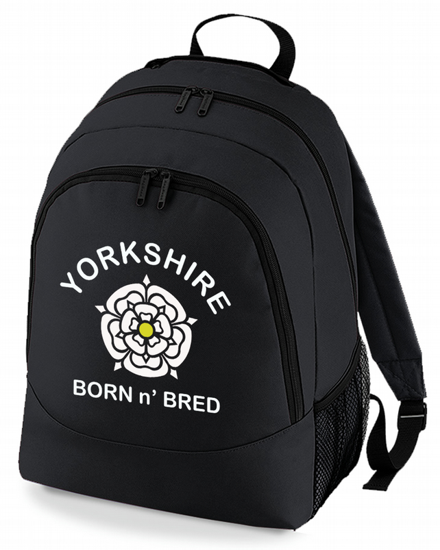 YORKSHIRE BORN n' BRED- Regional Pride Backpack - BPK1236