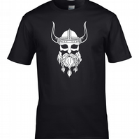 VIKING SILHOUETTE- US History Series inspired Men's T shirt   MTS1734