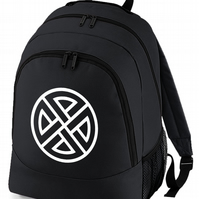 CELTIC SHIELD KNOT- backpack bag  -BPK1521