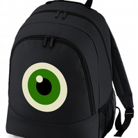 TEDDY BEAR EYE- Graphic Style backpack bag  -BPK1579