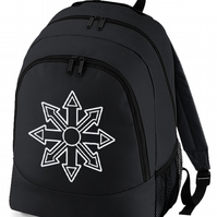 CHAOS SYMBOL - fantasy gaming gamer backpack  - BPK1750