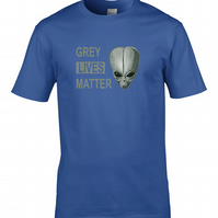 GREY LIVES MATTER- Cool Retro 80s style Sci Fi Series Inspired  - MTS2223