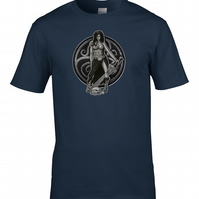 GAULISH WARRIOR- Celtic Tribeswoman Character - Men's T-Shirt - MTS2220