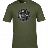 GAULISH WARRIOR- Celtic Chieftain Character - Men's T-Shirt  - MTS2221