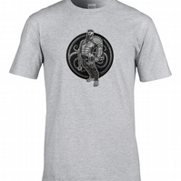 GAULISH WARRIOR- Celtic Tribesman Character - Men's T-Shirt- MTS2219