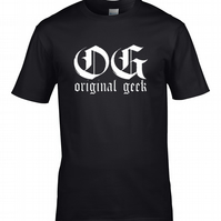 OG ORIGINAL GEEK -  Mens T shirt  MTS1820
