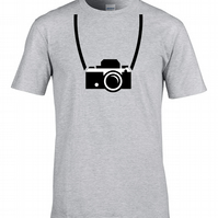 OLD SCHOOL CAMERA - Cool Photographer Stylish Graphic Men's T-Shirt  - MTS1194