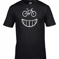GOOD TIME SMILING BIKE- mountain biker, extreme sports  mens T Shirt - MTS1797