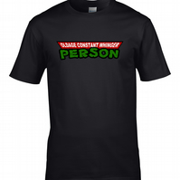 OLDAGE CONSTANT WHINGER PERSON - Moaning codger Men's T-shirt - MTS1411