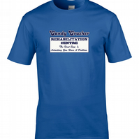 CANDY CRUSHER REHABILITATION CENTRE - funny gamer Men's t-shirt - MTS1196