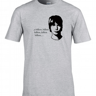 A billion billion billion, etc- funny, silly Brian Cox inspired Men's  - MTS1171