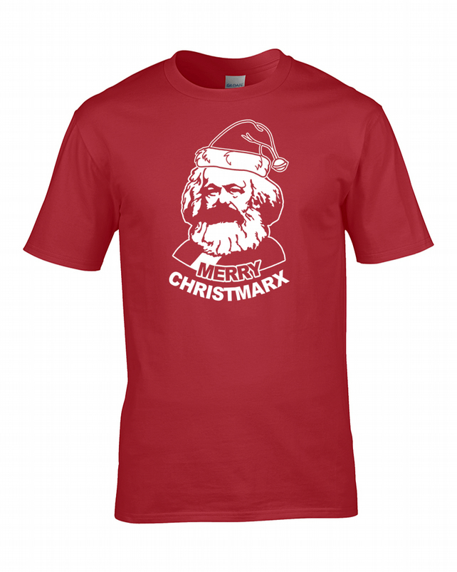 Merry Christmarx- Communist Christmas- Men's T-Shirt  - MTS2187
