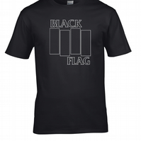 Black Flag- American Hardcore Punk Rock Band Logo Men' - Men's T-Shirt - MTS8068