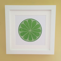 Lime Kitchen Wall Art